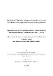 Rechtsgutachten - Bundesministerium für Familie, Senioren, Frauen ...