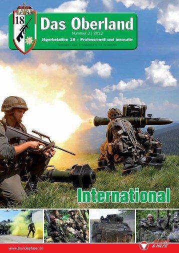 International - Österreichs Bundesheer