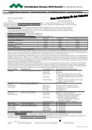 Wahlleistungsvereinbarung - Kommunalunternehmen Kliniken und ...