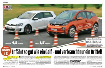 Ganz anders Ð und richtig gut. Ein Vergleich mit dem VW Golf zeigt ...