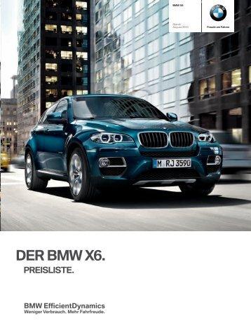 Preisliste - BMW Deutschland