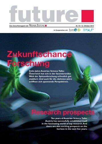Future 19 - Bundesministerium für Wissenschaft und Forschung