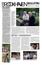 Vol. 54 No. 27, August 4, 2000 - Brookhaven National Laboratory