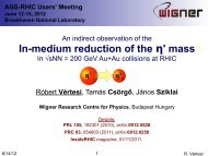 In-medium reduction of the η' mass - Brookhaven National Laboratory