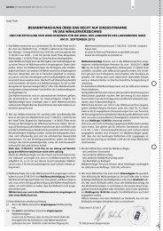 Amtliche Bekanntmachungen 08.2013 - Thale