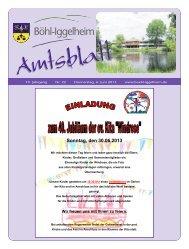 Amtsblatt vom 06.06.2013 (KW 23) - Gemeinde Böhl-Iggelheim