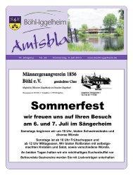 Amtsblatt vom 04.07.2013 - Gemeinde Böhl-Iggelheim