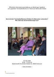 Öffentliche Informationsveranstaltung von Boehringer Ingelheim ...