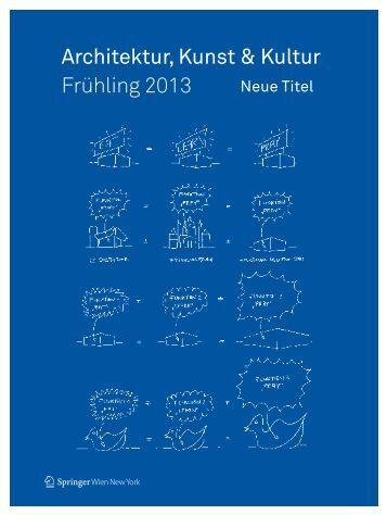 Architektur, Kunst & Kultur Frühling 2013 - boersenblatt.net