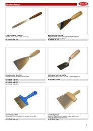 Handwerkzeuge - Bonum - Werkzeuge für Profis