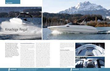 März 2008 Regal 2400 - boot24.ch