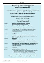 """Workshop """"Wasserstoffgeräte und Magnetmotoren"""""""
