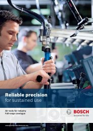 Download leaflet as PDF - Bosch Production Tools