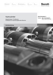 Hydrozylinder - Bosch Rexroth