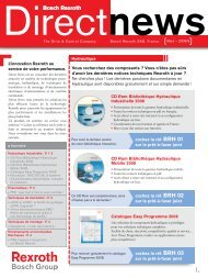 BR Direct news n°1 - Bosch Rexroth