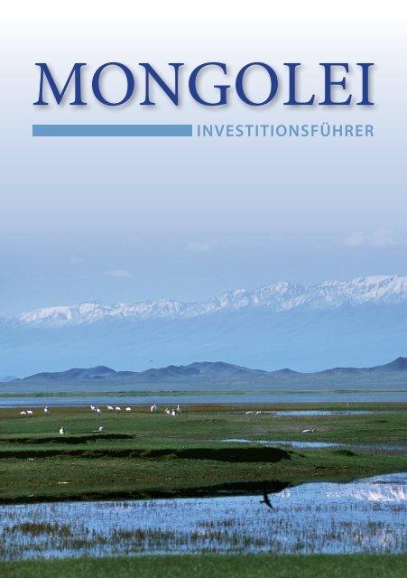 Investitionsführer - Botschaft der Mongolei in der Bundesrepublik ...
