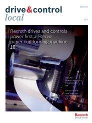 drive&control local - Bosch Rexroth