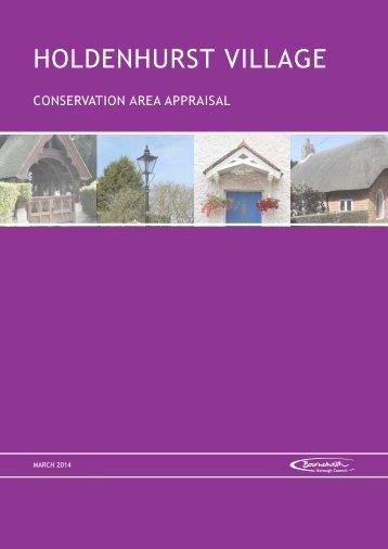 Holdenhurst Village Conservation Area Appraisal - Bournemouth ...