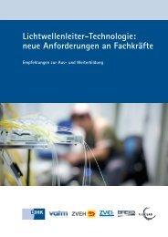 Lichtwellenleiter-Technologie: neue Anforderungen an Fachkräfte
