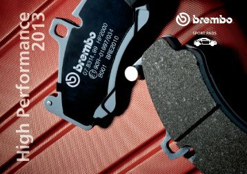 pads cATALOgue - Brembo