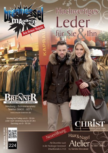 brennessel magazin November 2013