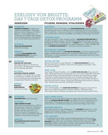 Detox Plan 7 Tage : 7 tage bio k rner kur heft dr ritter ~ Frokenaadalensverden.com Haus und Dekorationen