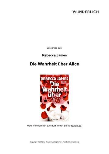 Die Wahrheit über Alice - Brigitte