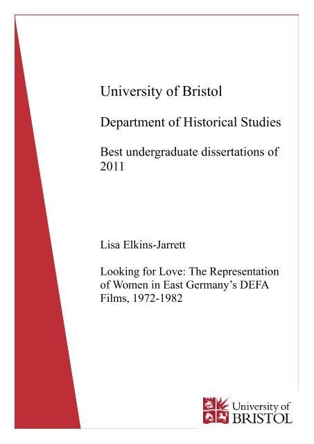 history masters dissertation