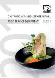 gastronomie- und servierartikel food service equipment - Brill Catering