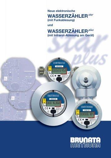 WASSERZÄHLER star - BRUNATA Hamburg