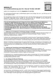 Merkblatt Antragstellung Investitionsförderung - BRW