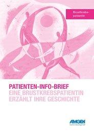patienten-info-brief eine brustkrebspatientin erzählt ihre geschichte