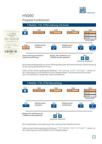BS H5000 d prepaid V1-1 BSTZ1160.pdf - B+S Card Service GmbH