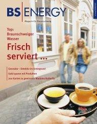 Frisch serviert ... - BS Energy
