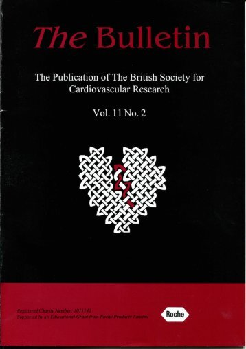 Vol. 11, No. 2 - British Society for Cardiovascular Research