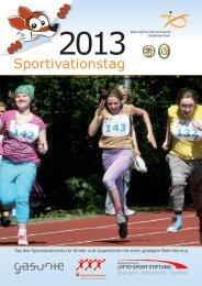 Sportivationstag 2013 - Behinderten Sportverband Niedersachsen