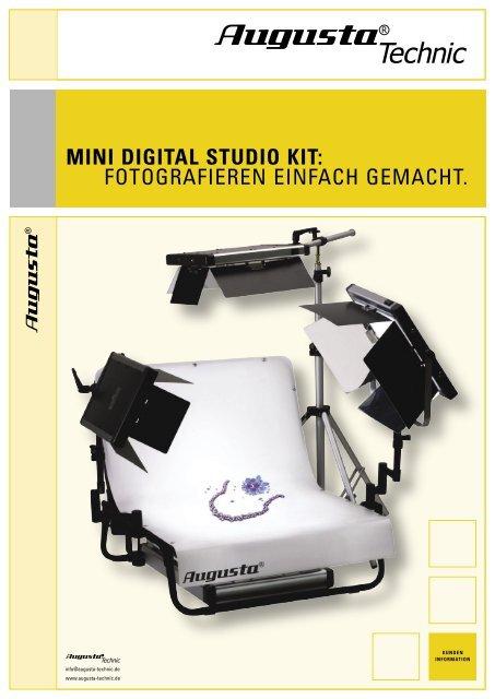 MINI DIGITAL STUDIO KIT: FOTOGRAFIEREN EINFACH GEMACHT.
