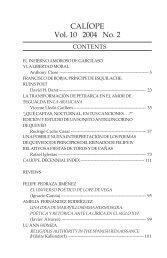 CALÍOPE Vol. 10 2004 No. 2