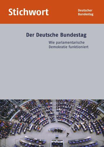 Stichwort - Deutscher Bundestag