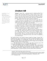 Unident AB