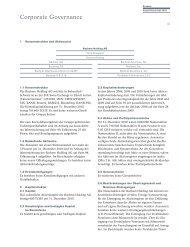 Corporate Governance - Bachem