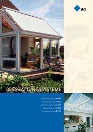 Prospekt Beschattungssysteme - Buchner GmbH
