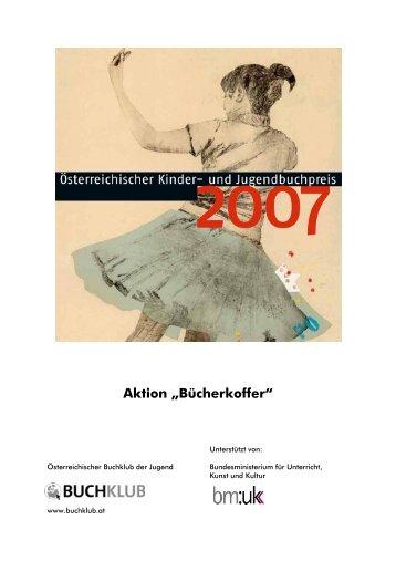 Unterrichtsmaterialien zu den Preisbüchern 2007 - Buchklub der ...