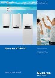 Logamax plus GB172/GB172T - Buderus