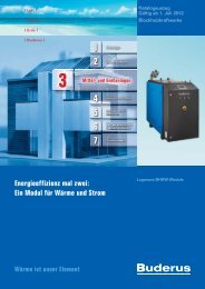 Energieeffizienz mal zwei: Ein Modul für Wärme und Strom - Buderus