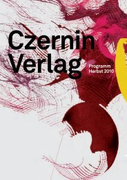 Verlag Programm Herbst 2010