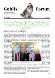 Gohlisforum 06/13 - Bürgerverein Gohlis eV