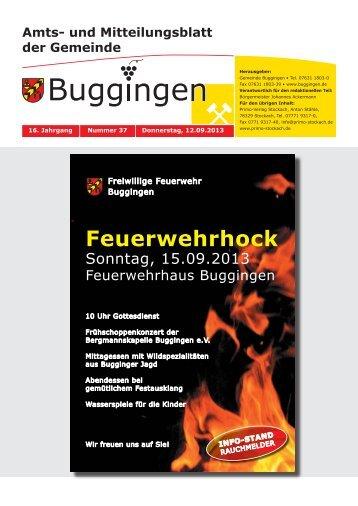 Feuerwehrhock - Buggingen