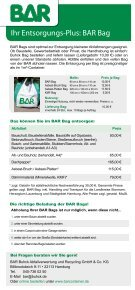 BAR BAG - Buhck Umweltservices GmbH & Co. KG - Page 2