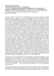 Friedrich Hermann Schubert, Ludwig Camerarius - Bund Freiheit der ...